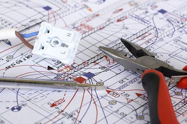 elektriker horsens el-entreprise plantegning ledning 600x400
